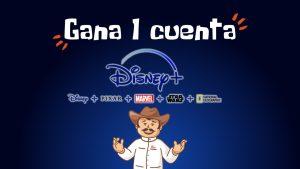 Sorteo cuenta Disney+ | Condiciones y términos